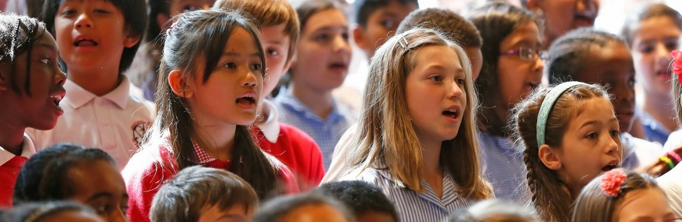 The Bach Choir Outreach Programme – Sharing the joy of singing