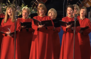 The Bach Choir sings for the Queen at Buckingham Palace