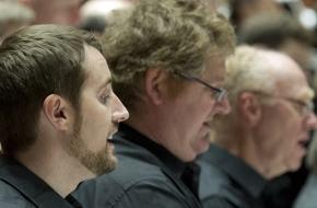 The Bach Choir tenor Daniel Spring strikes the right note!