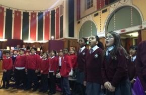 Outreach schools visit Westminster Cathedral Hall