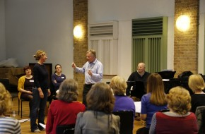 Primary school teachers join David Hill for conducting workshop
