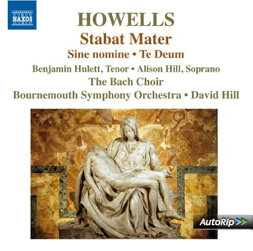 Herbert Howells: Stabat Mater (Naxos CD preview) - September 2014