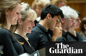 """How one choir are honing their communication skills to reach a new audience"""