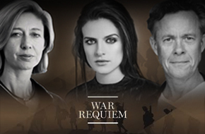 Christina Lamb OBE, Aisling Loftus & Alex Jennings join War Requiem concert