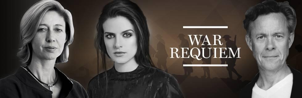 Christina Lamb OBE, Aisling Loftus & Alex Jennings join War Requiem concert