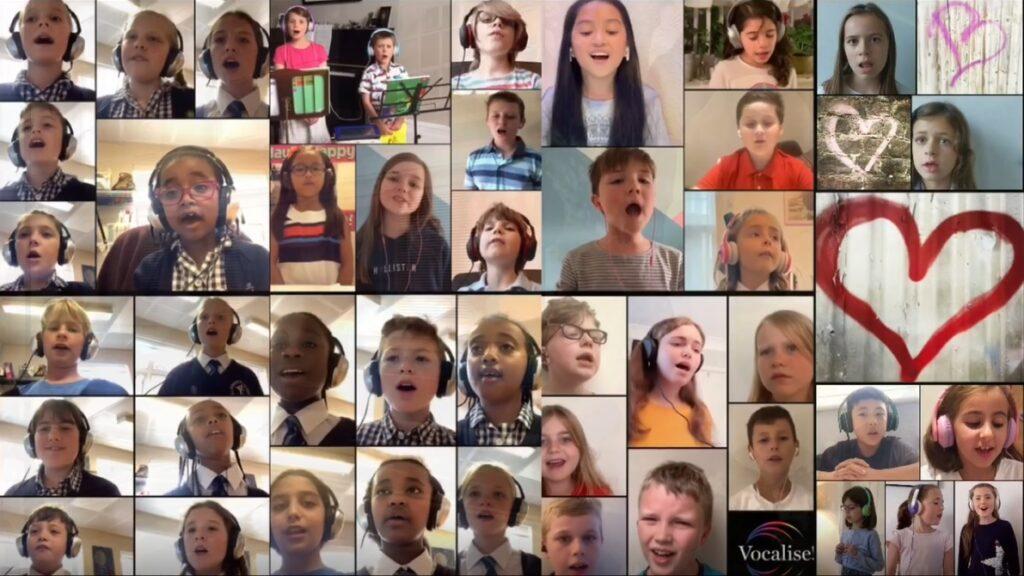 The Bach Choir's virtual children's choir