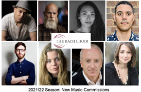 The Bach Choir commissions 10 diverse composers for 2021/22 season
